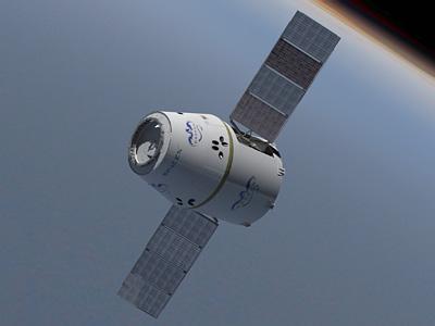 SpaceX Dragon Space Capsule - 360˚ View - Coastal Enterprises