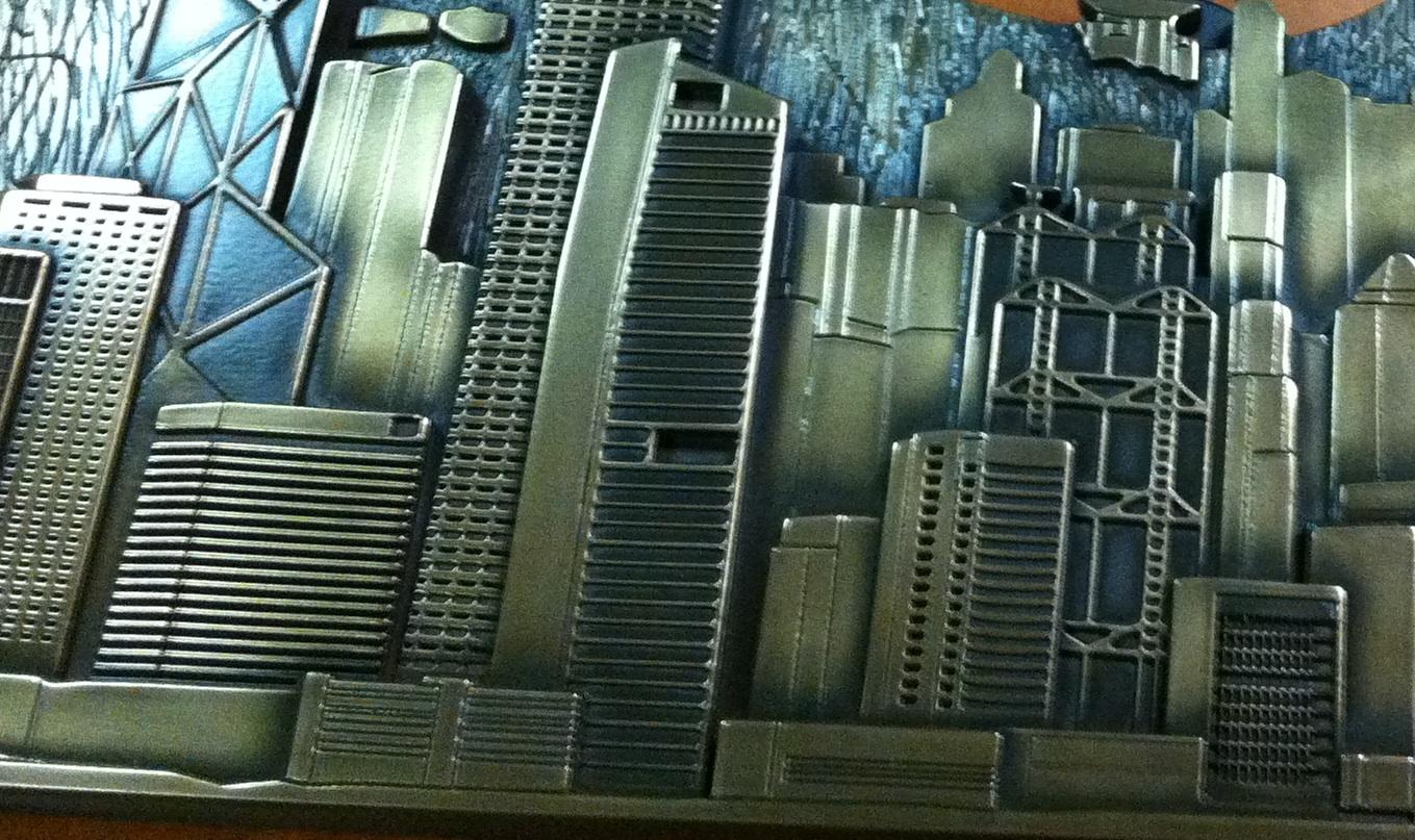 A 30 x 240 39 replica of the hong kong skyline coastal for Custom home builder selection sheet