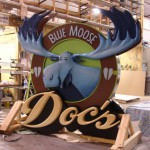 Doc's Blue Moose – Hand Carved Precision Board Plus