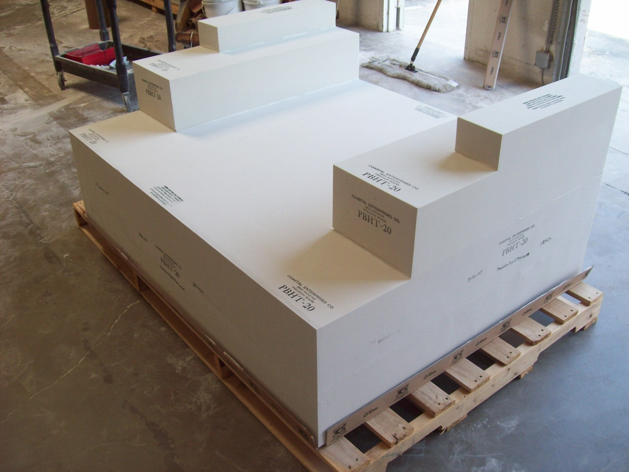 Check out the latest bonded block from coastal enterprises for Custom home builder selection sheet