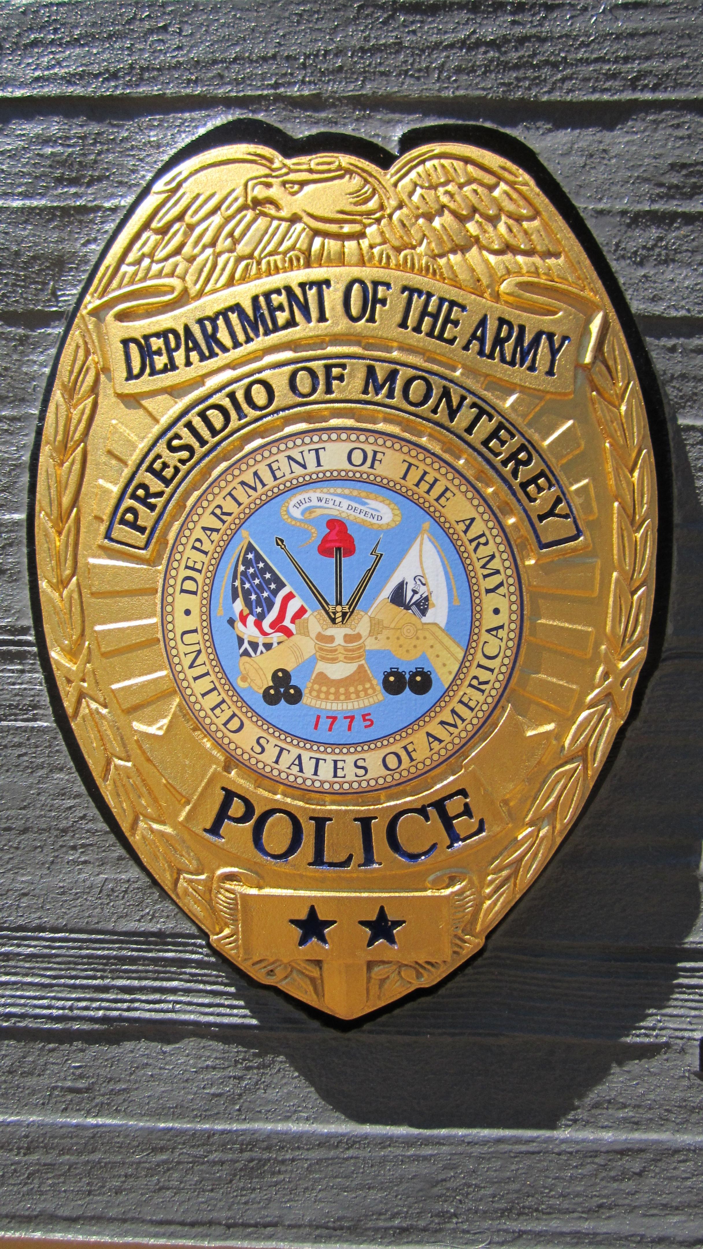 Presidio Police Shield Coastal Enterprises