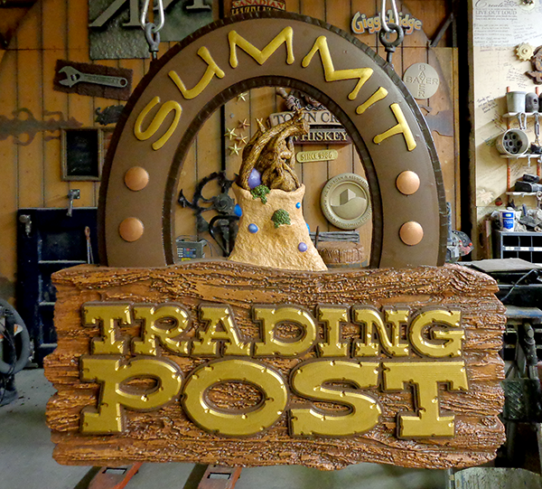 trading post sign