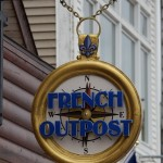 French Outpost Sign in St. Ignace – Built To Last