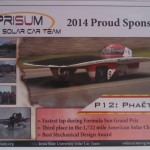 Sun Raycing with PrISUm: Phaeton Places Third In NASC