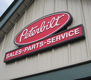 Mounted Final Exterior Sign