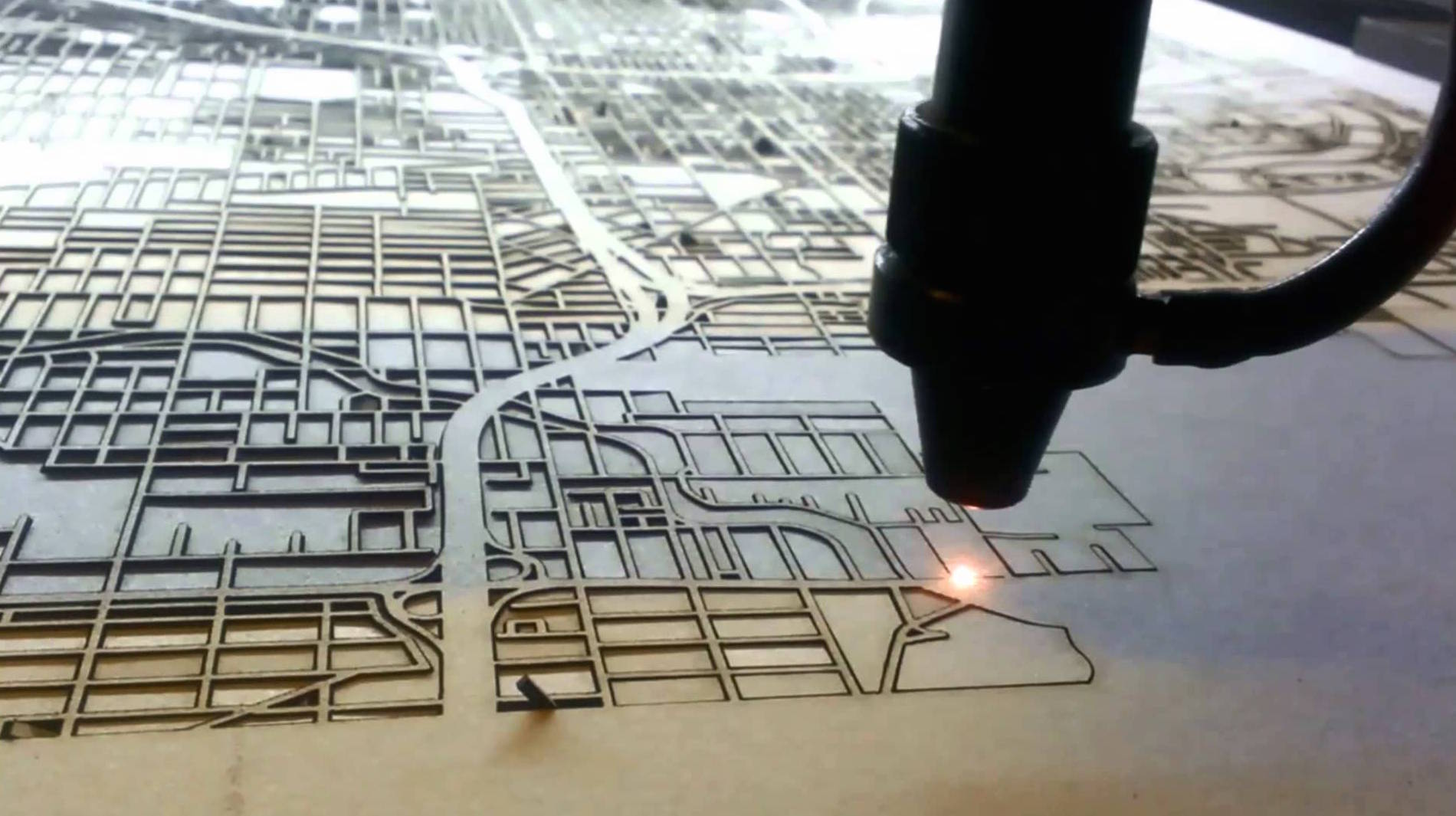 LaserStreetMap