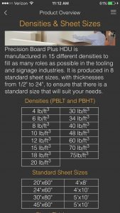 precision board mobile