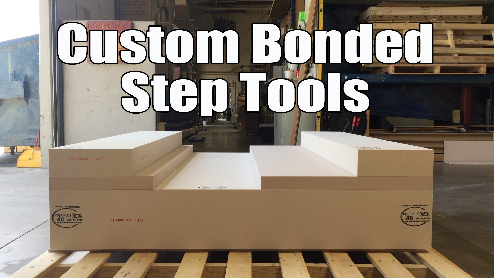 Custom Bonded Step Tools