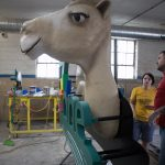 "3D Camel Puts ""The Zone"" Sign Over the Top"