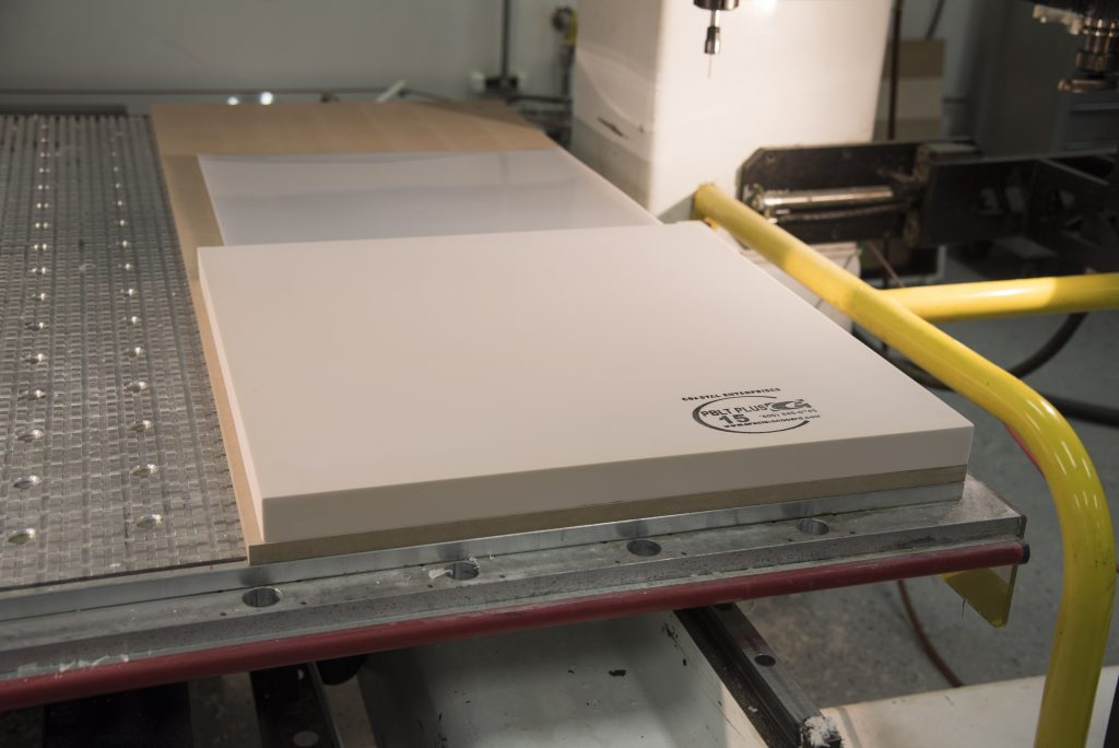 Onsrud speeds and feeds for CNC routing of HDU