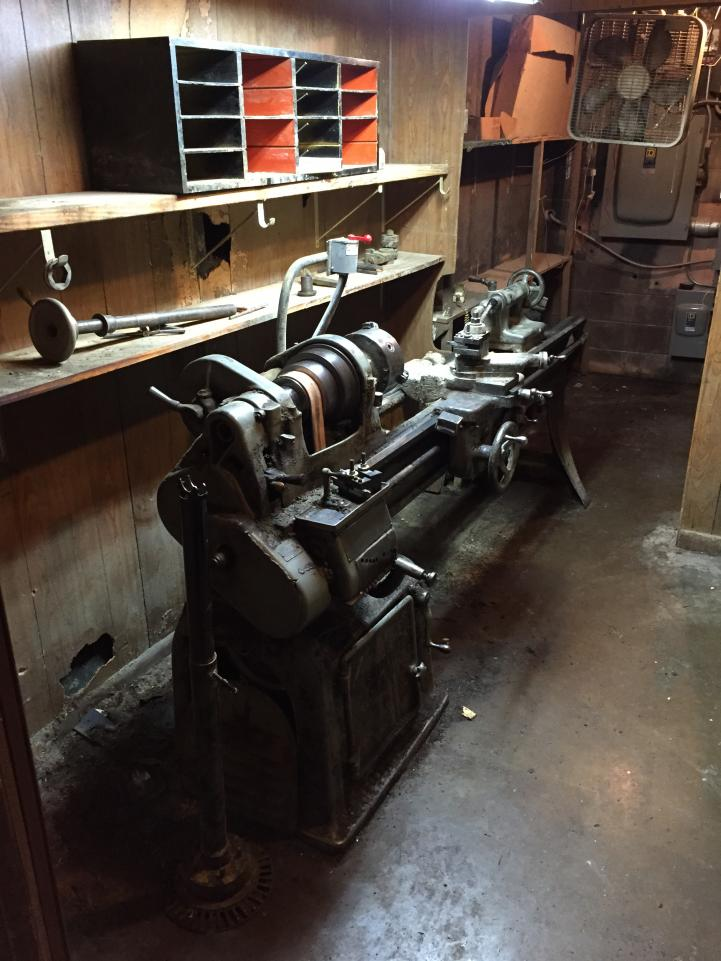 Lost And Foundry Restoring A Wwii Era 16 Quot Lathe Coastal