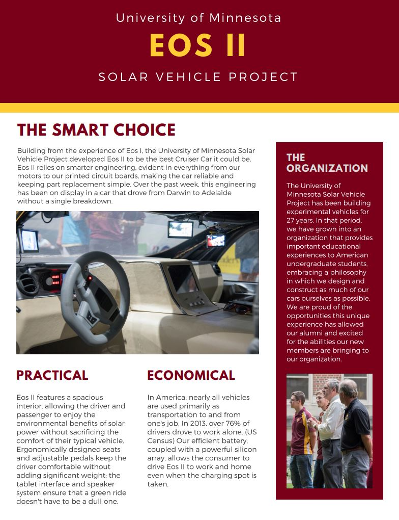 solar vehicle