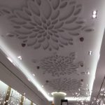Architectural Ceiling Design for American Girl New York