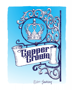 copper crown design