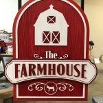 Rob Estes and His Farmhouse Precision Board Sign