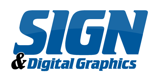 sign and digital graphics