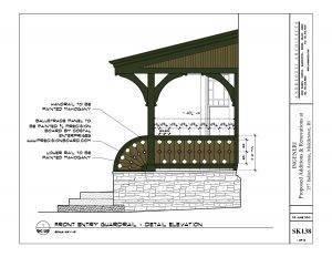 ornate railing