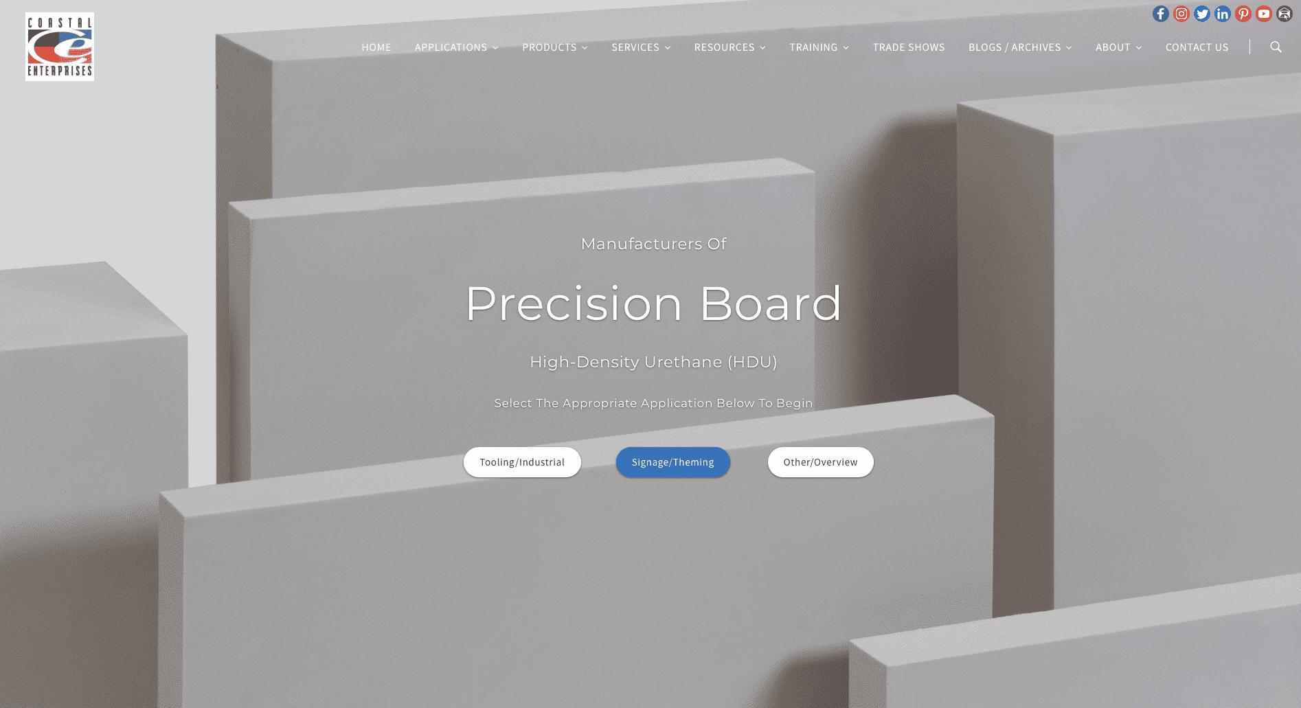 precisionboard.com